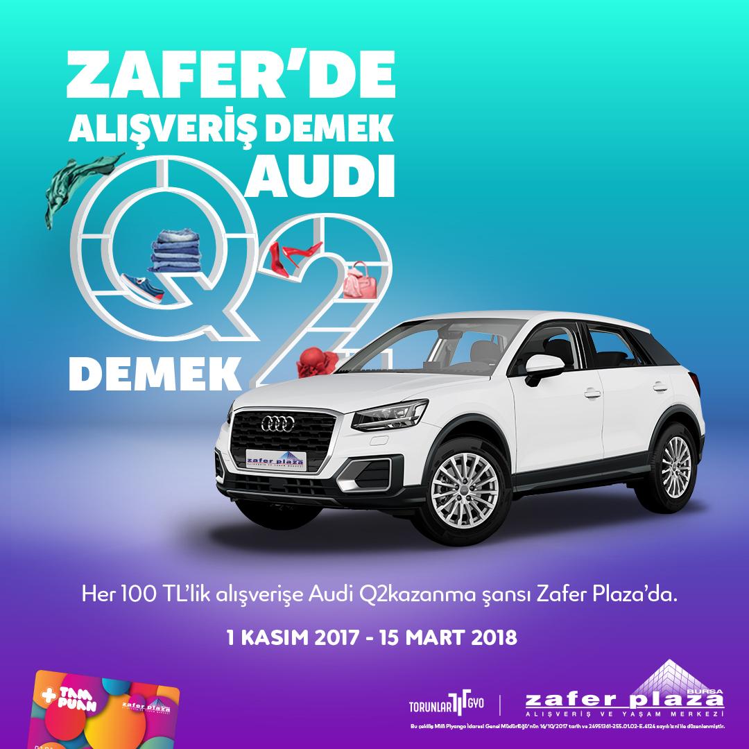 Zafer'de Alışveriş Demek Audi Q2 Demek