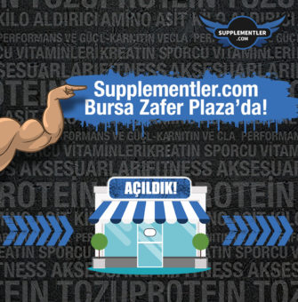 Supplementler Açıldı!