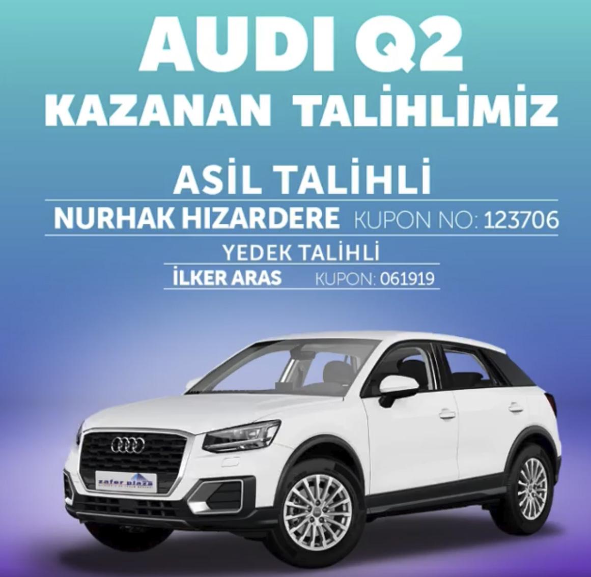 Q7'de kazanan Talihli