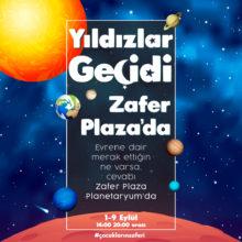 Yıldızlar Geçidi Zafer Plaza'da