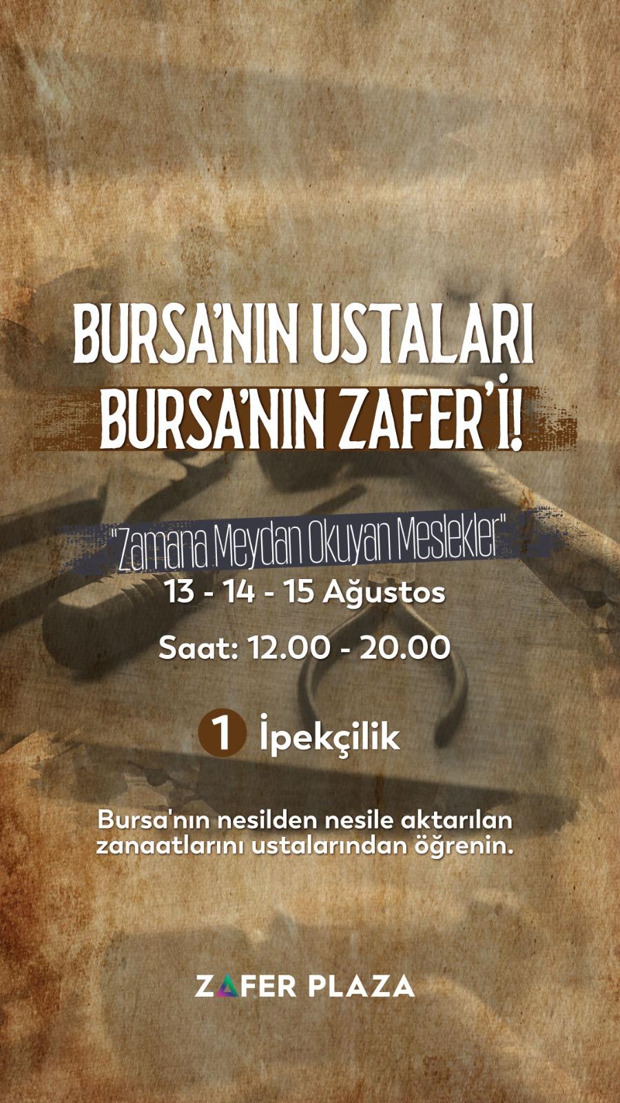 Bursa'nın Ustaları
